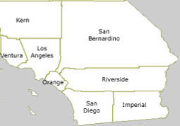 Image - Map - SoCal Counties